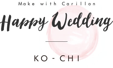 Make with Carillon Happy Wedding ko-chi